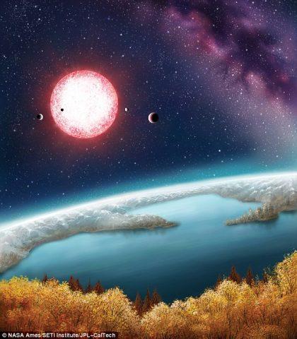 kepler- pianeta simile terra -ipotesi vivibilità