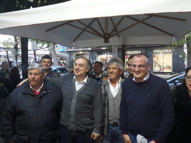 Antonio La Manna tra Cosimo Pio Di Benedetto e Massimo Cariello