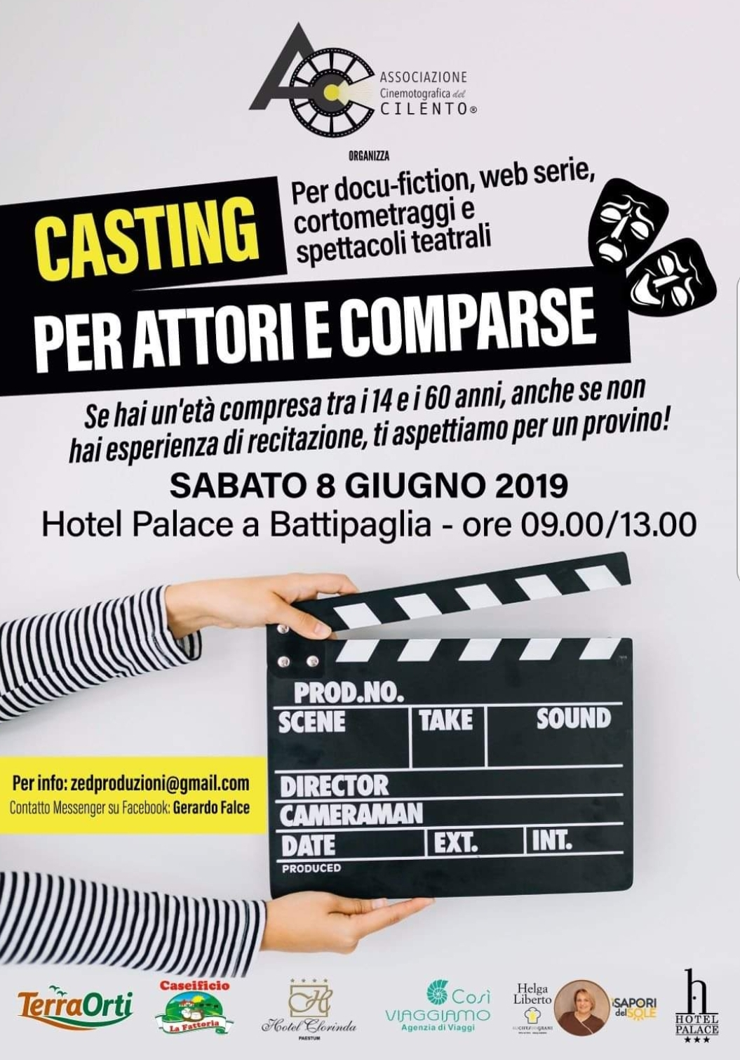 Locandina casting