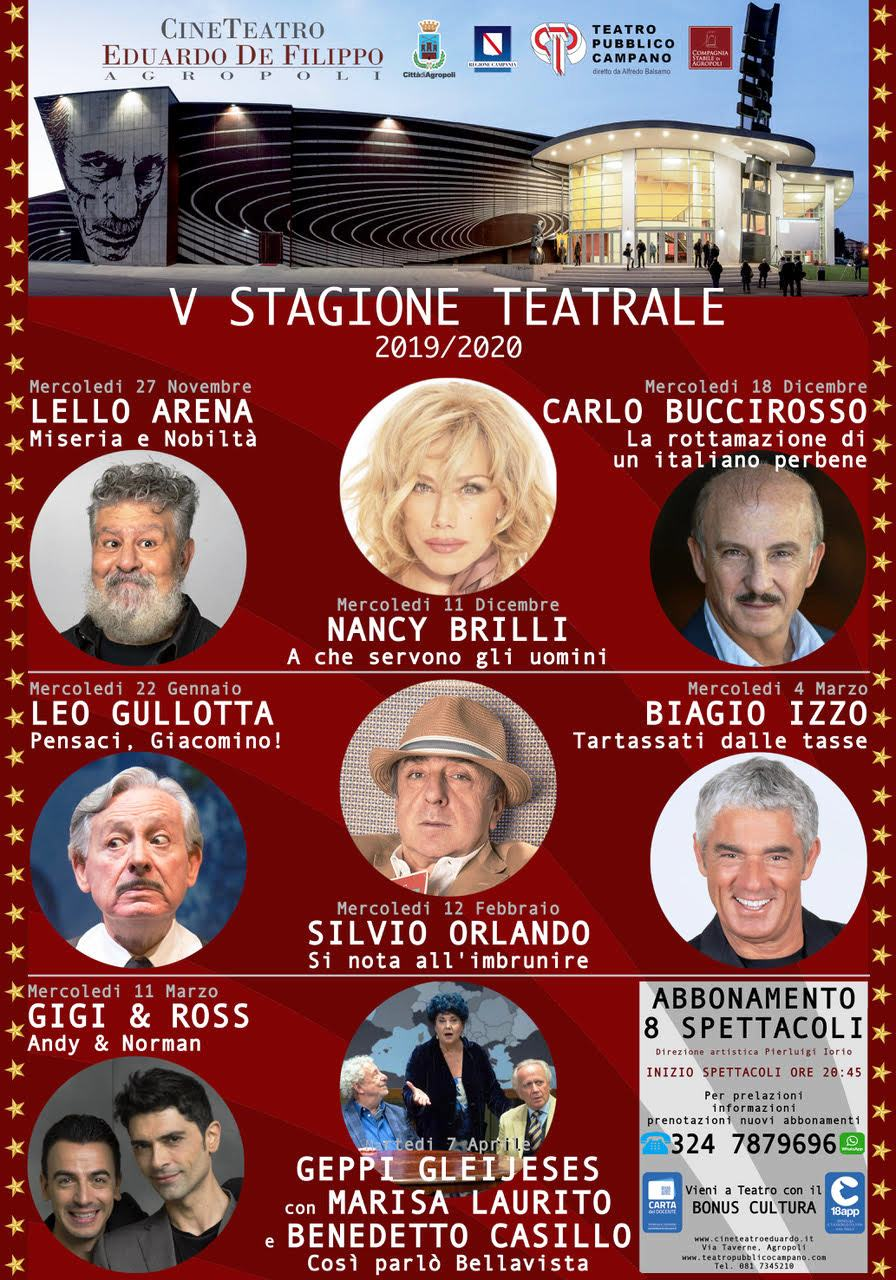 Agropoli-locandina V stagione teatrale