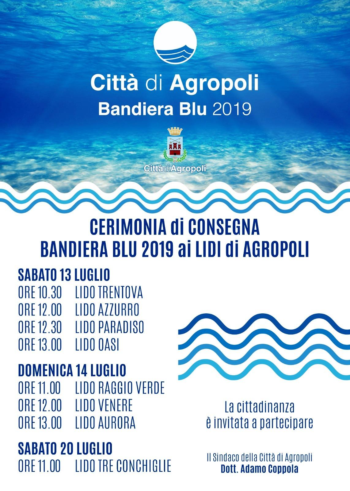 Agropoli evento consegna Bandiera blu
