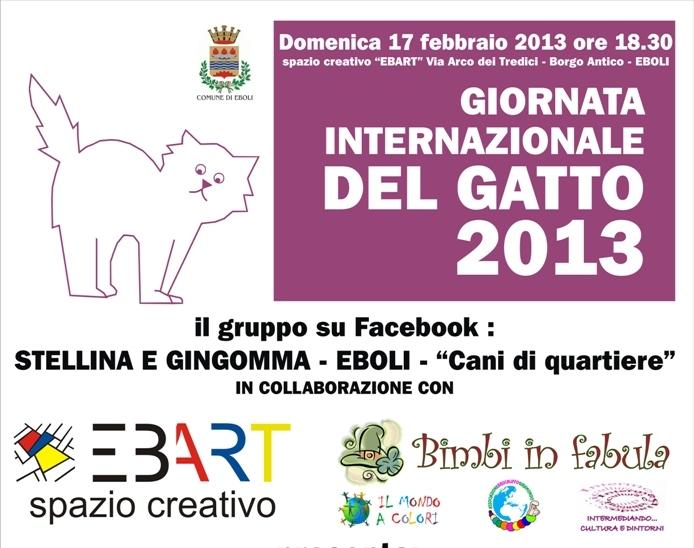 17 Febbraio 2013 Giornata Internazionale Del Gatto