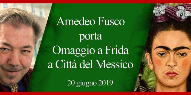 locandina omaggio a Frida città del messico