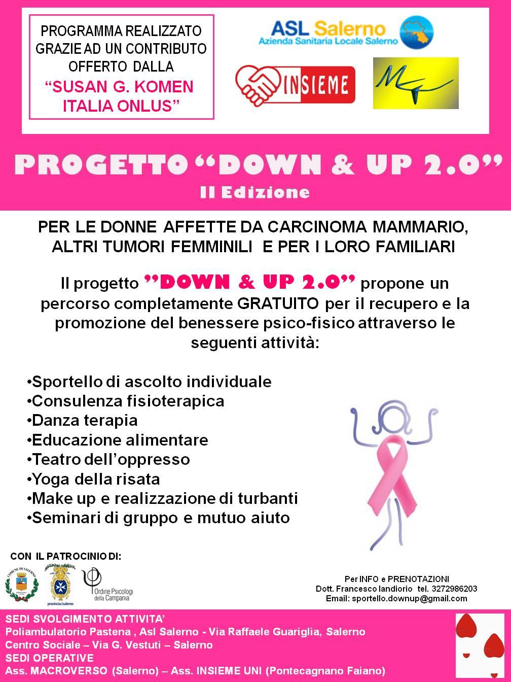 locandina progetto-DOWN & UP 2.0.-Salerno
