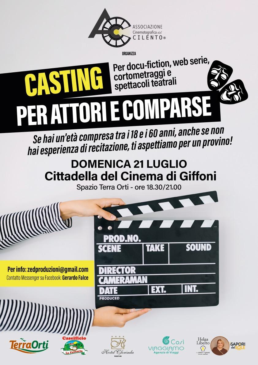 Associazione Cinematografica del Cilento_casting