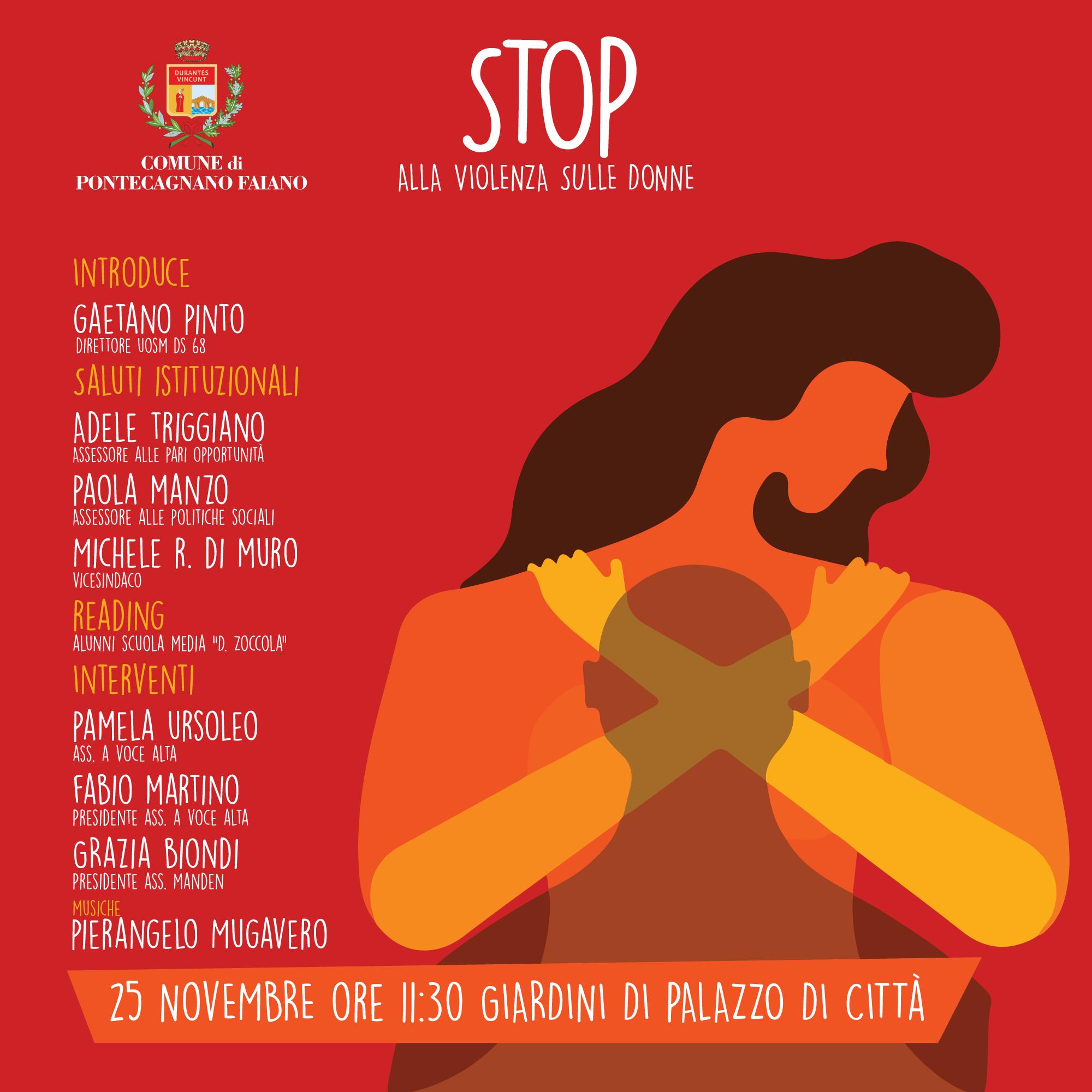 pontecagnano faiano stop alla violenza sulle donne politicademente il blog di massimo del mese politicademente