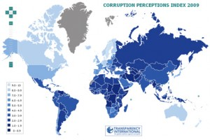 mappa corruzione