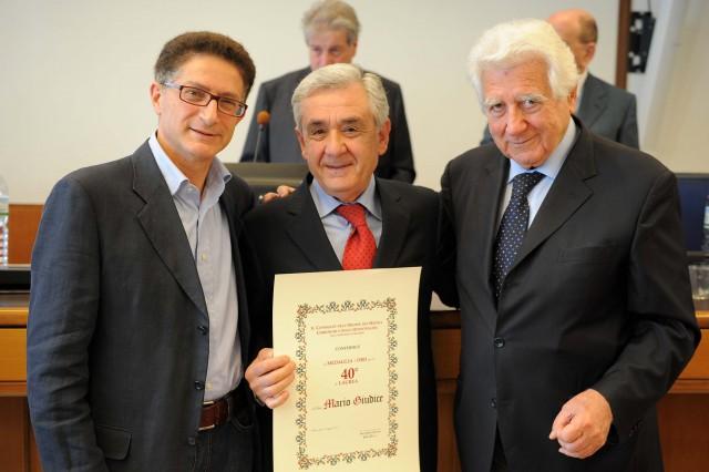 Mario-Giudice-Bruno Ravera-60° Laurea
