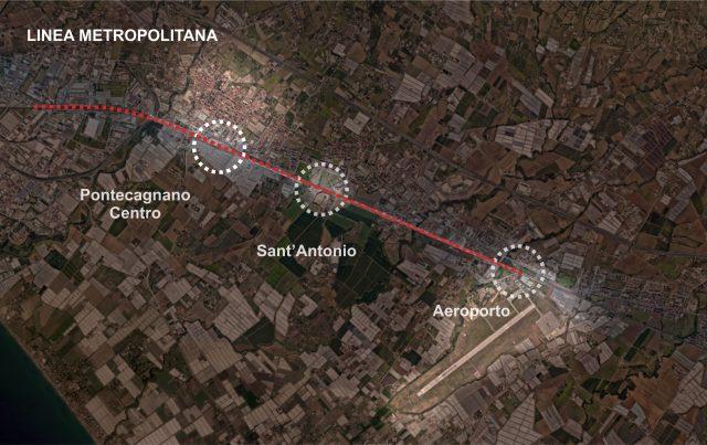 metropolitana-Fermate a Pontecagnano Faiano