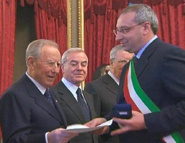 michele-cuozzo-con-Carlo Azeglio Ciampi-Gianni Letta