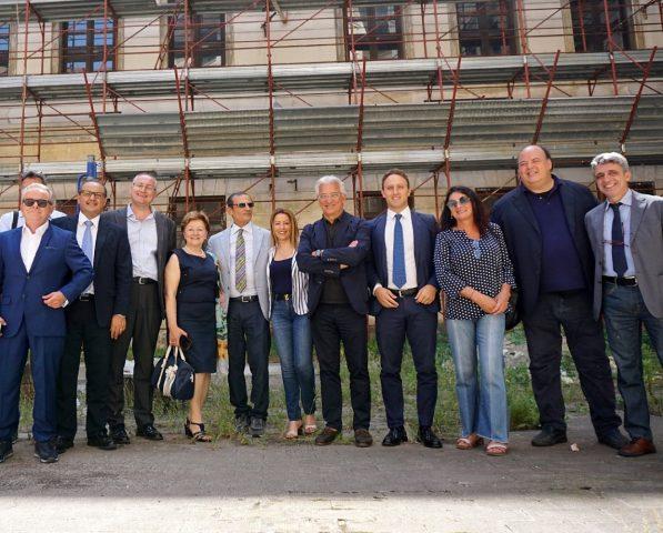 Fortoni-Strianese-Picarone-Napoli- consegna lavori Tasso