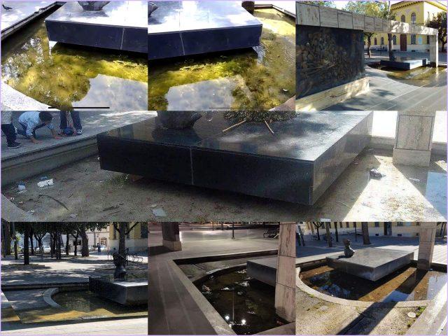 monumento Giudice prima da Ginetti