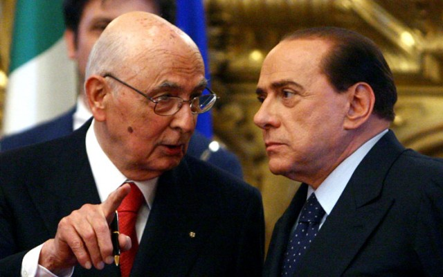 Napolitano-Berlusconi