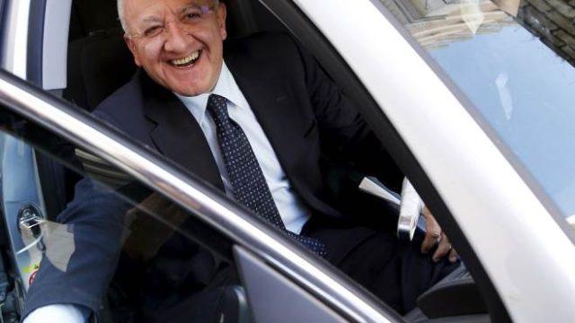 Vincenzo De Luca-Auto Blu