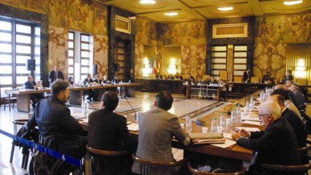 Consiglio comunale Salerno-Proclamazione