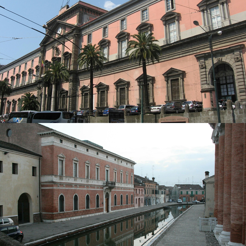 Museo archeologico Nazionale Napoli-Comacchio-Palazzo-
