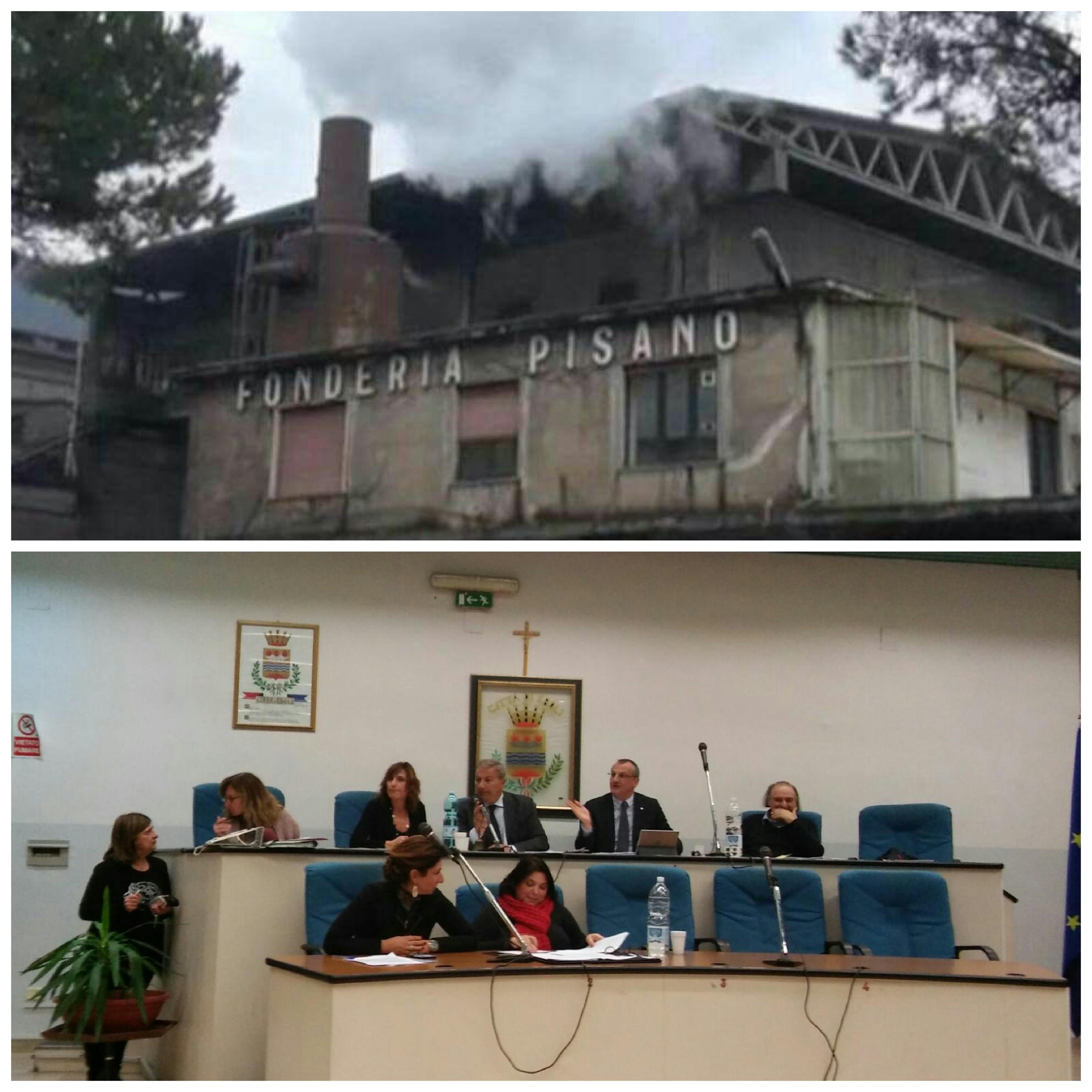 Consiglio comunale-Fonderie Pisano