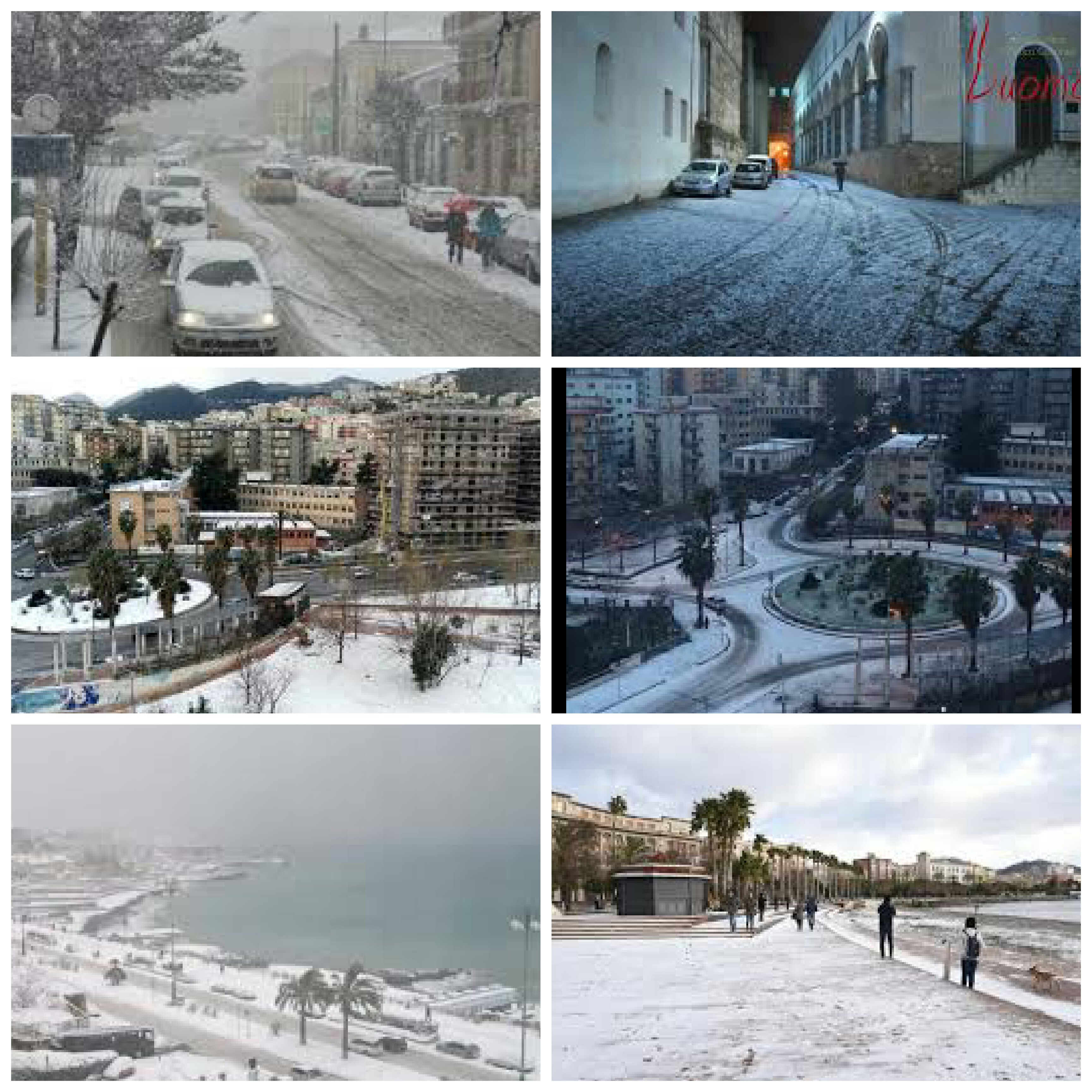 Neve a Salerno