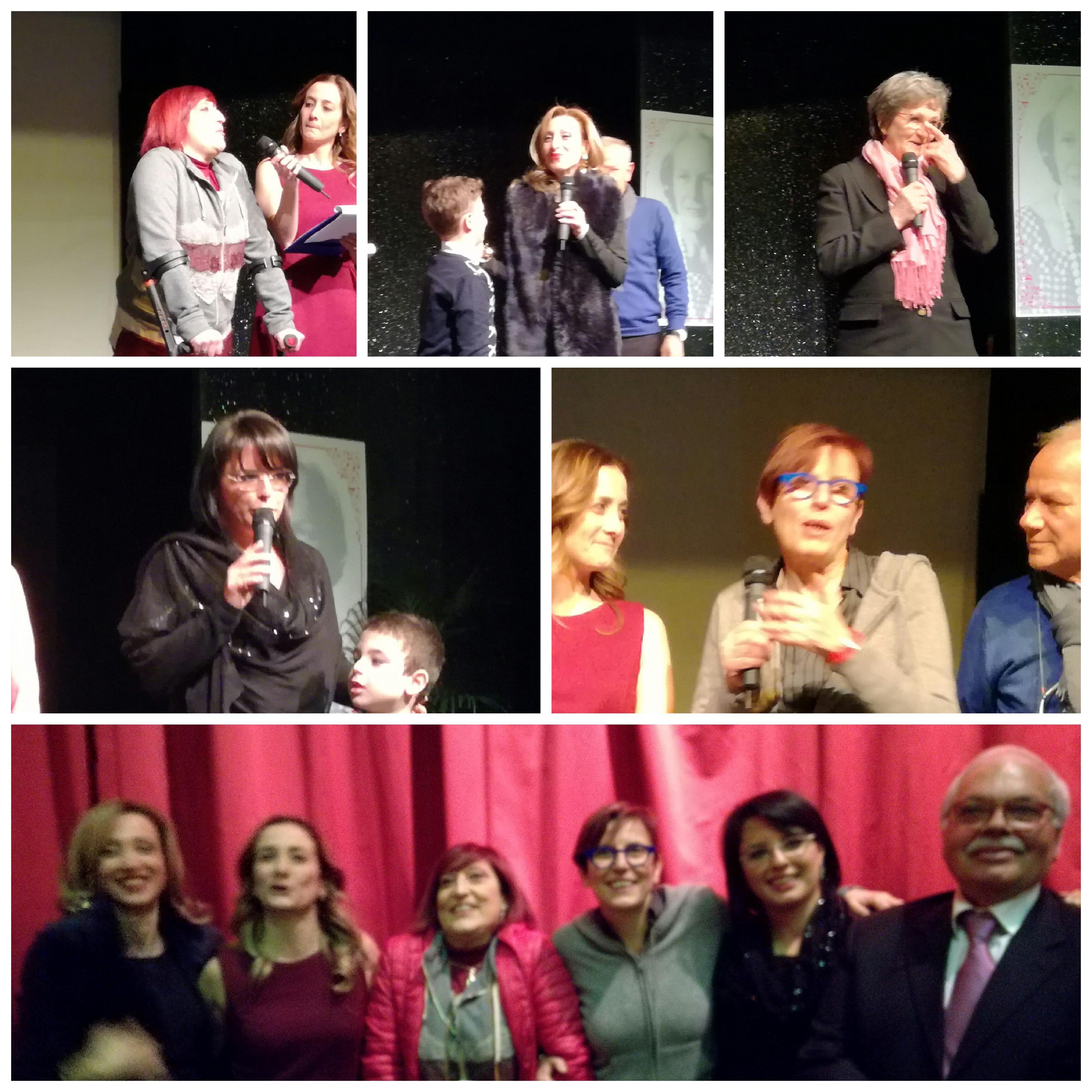 Battipaglia-festa della Donna-premiazione-Umberta Basso-Cecilia Francese-Anna Bruno-Daniela Palma-Elisa Vitolo-Michele Cupertino