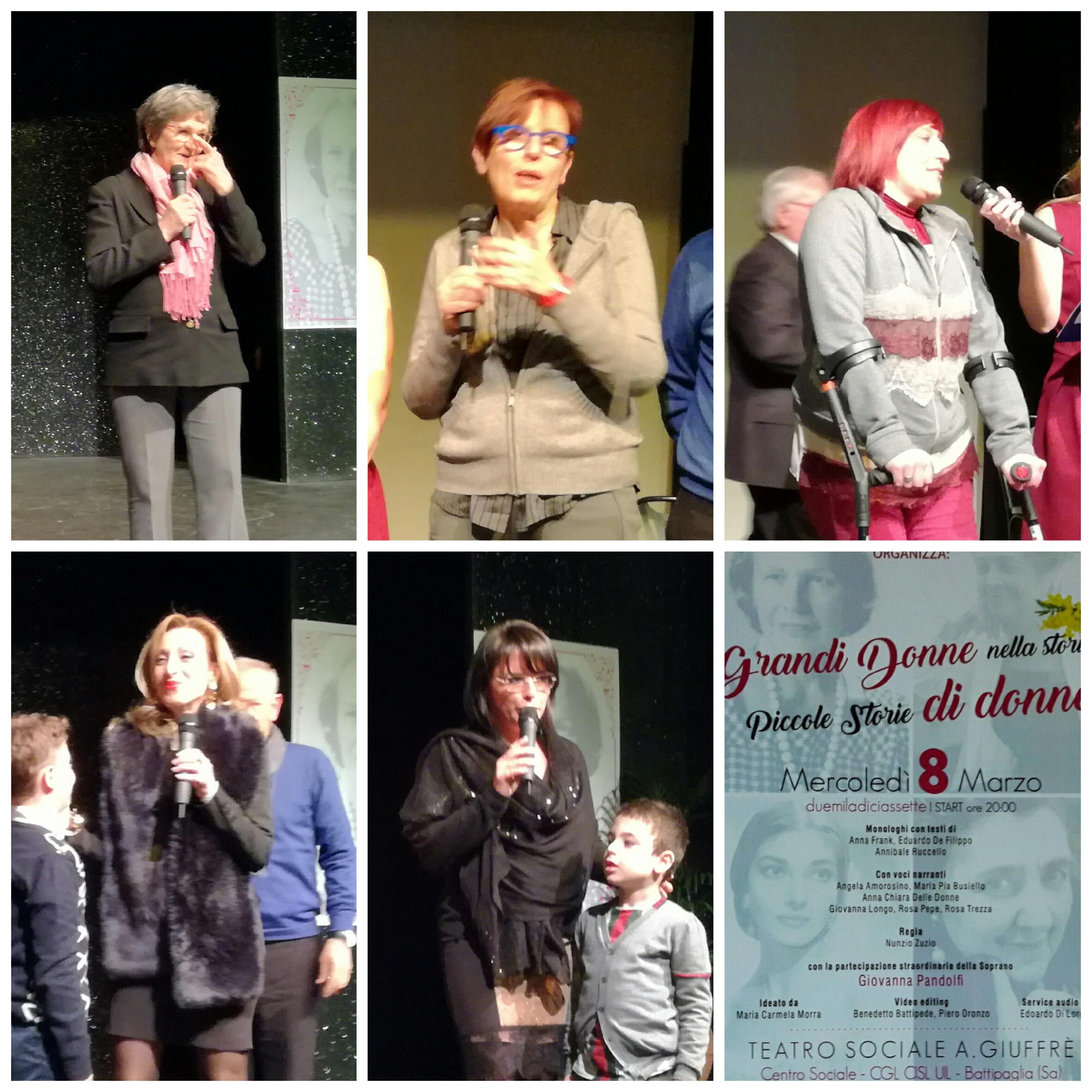 Battipaglia-festa della Donna-premiazione-Umberta Basso-Cecilia Francese-Anna Bruno-Daniela Palma-Elisa Vitolo