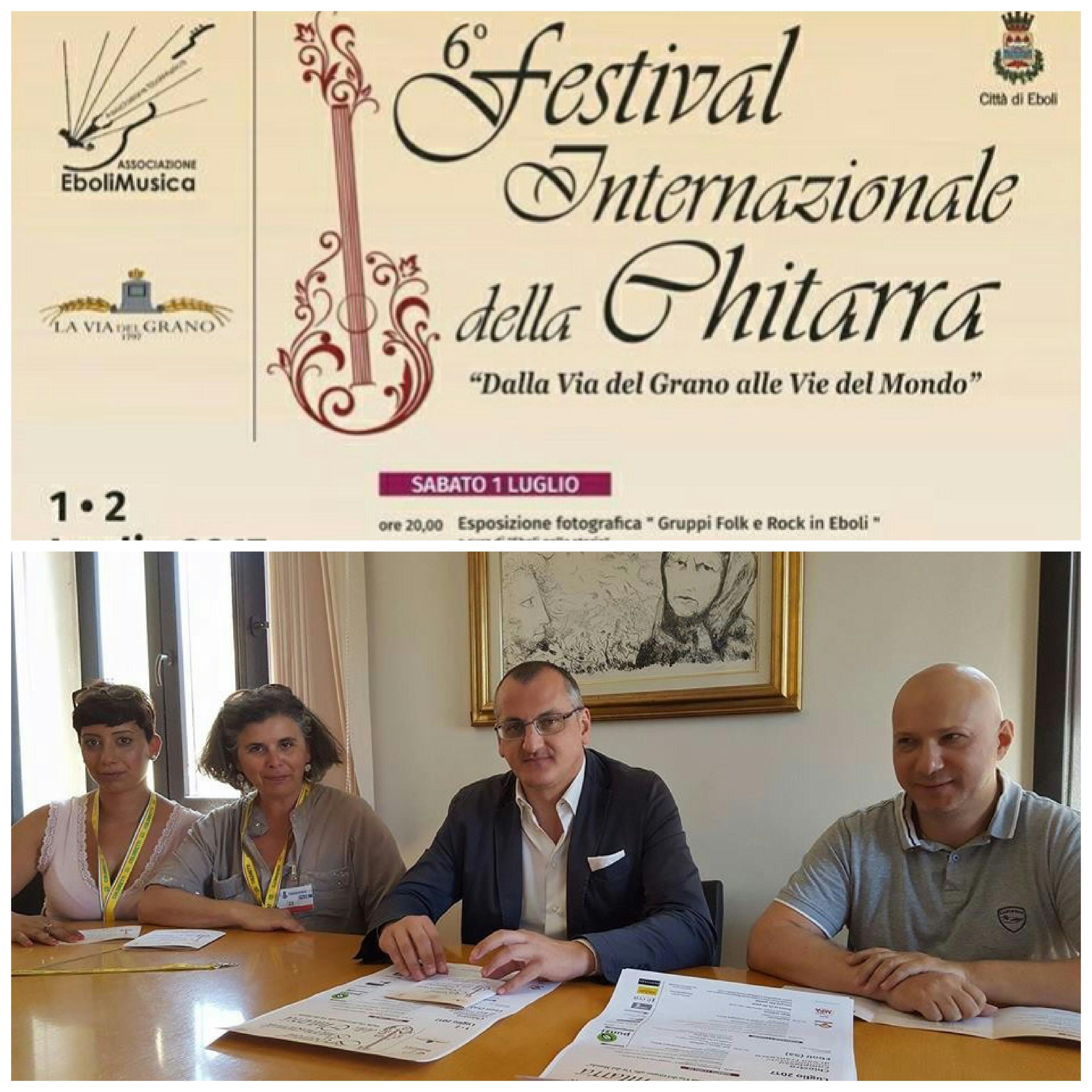 6 Festival della Chitarra Cittá di Eboli-Dell'Orto-Cariello-Del Plato