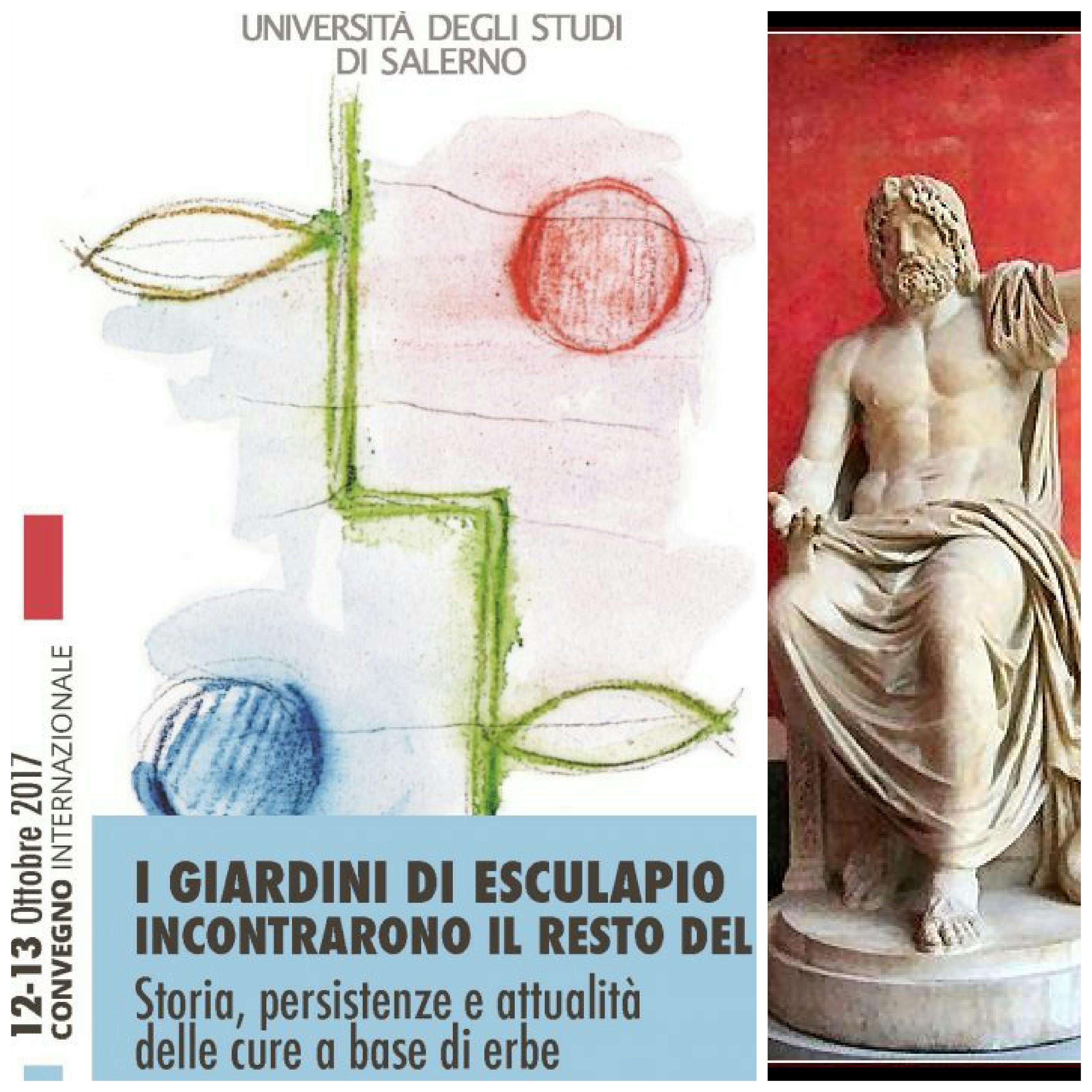 I giardini di Esculapio-convegno Salerno