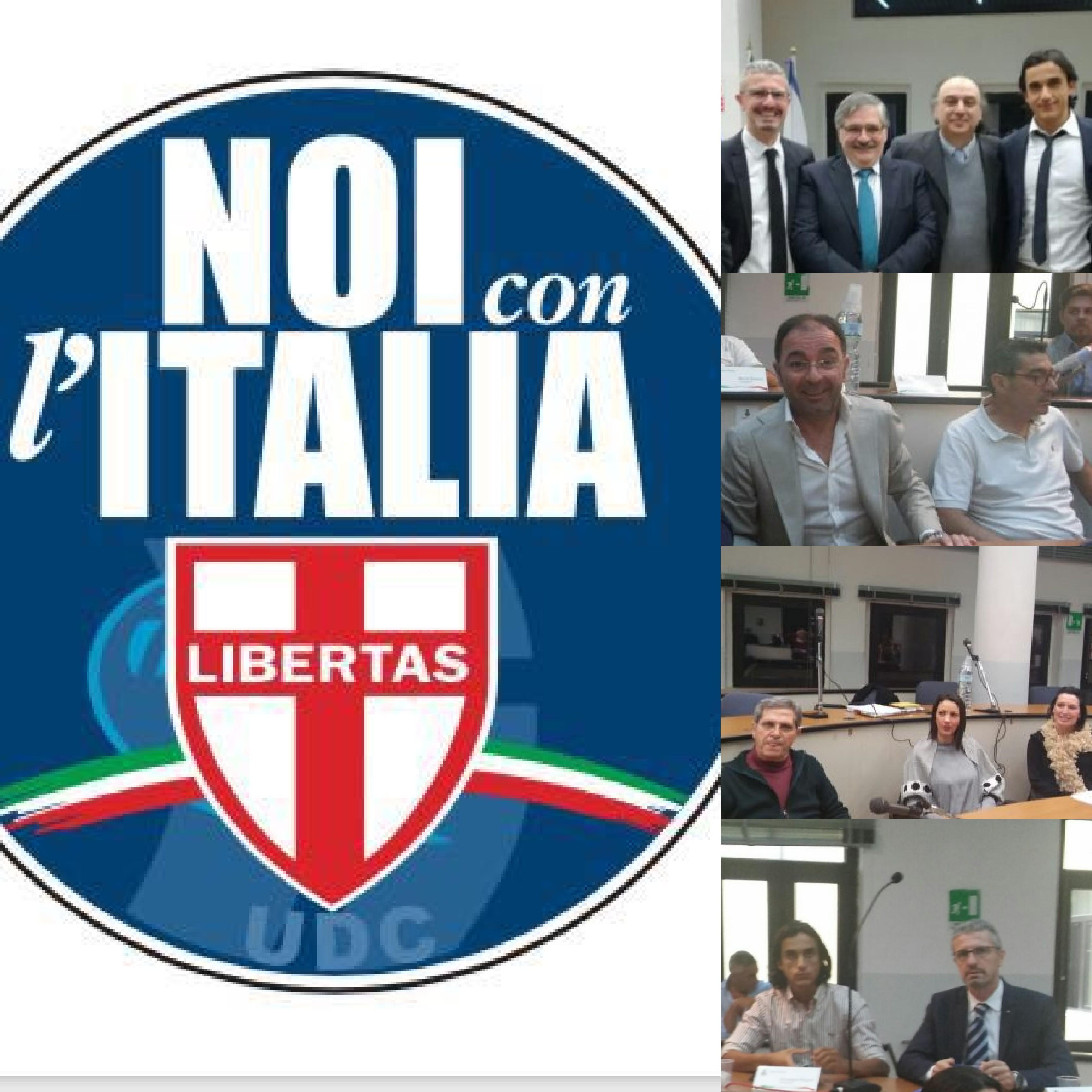 UDC-Noi con l'Italia-Guarracino-Marchesano-Di Benedetto-Piegari-Masala-Grasso