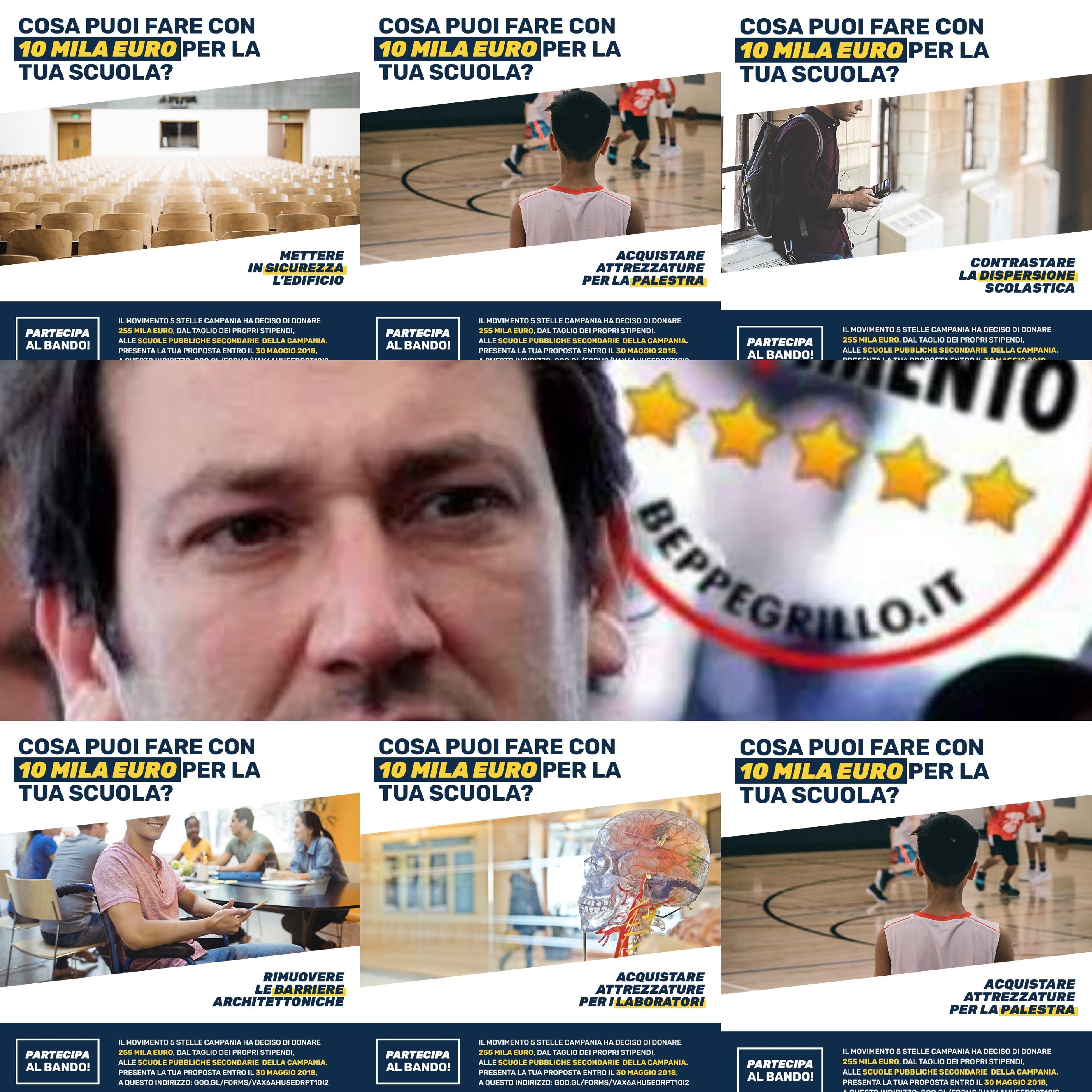 Cammarano-M5S-fondo miglioramento scuole