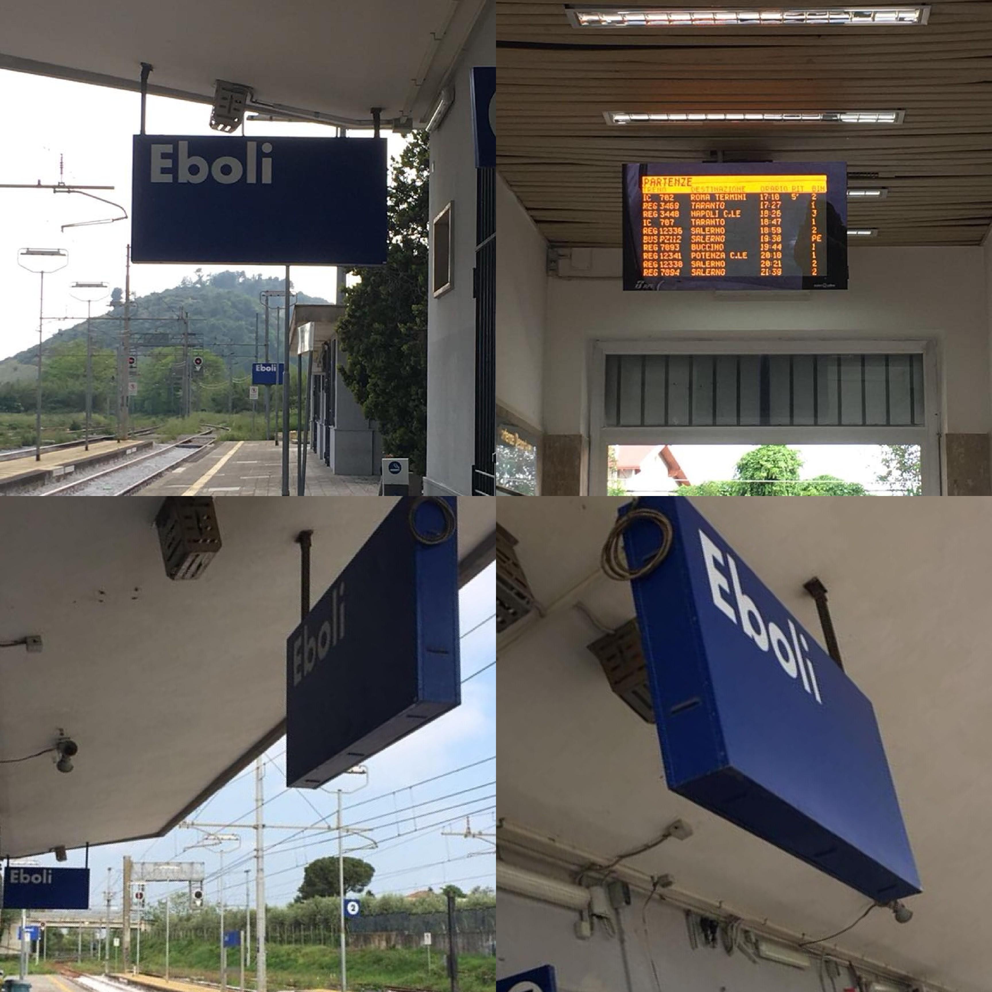 Stazione di Eboli-Monitor-tabelle