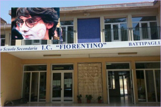 Intitolazione scuola fiorentino a Giancarlo Siani