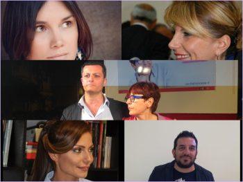 Laura Toriello-Francesca Napoli-Ugo Tozzi-Cecilia Francese-Gemma Caprino-Michele Gioia