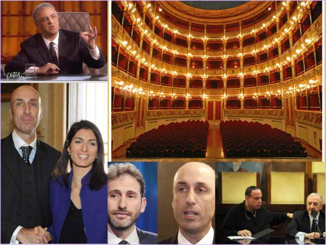 DeLuca-Crozza-Teatro Verdi-Lanzalone-Raggi-Casaleggio-Lanzalone-Oren-DeLuca