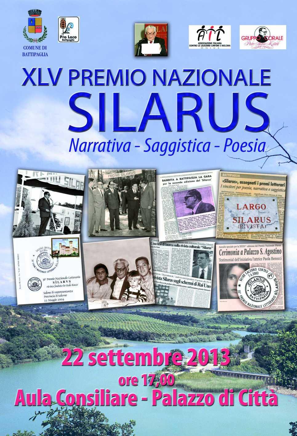 premio silarus 2013