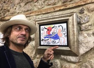 Francesco Cuomo- quadro contemporaneo