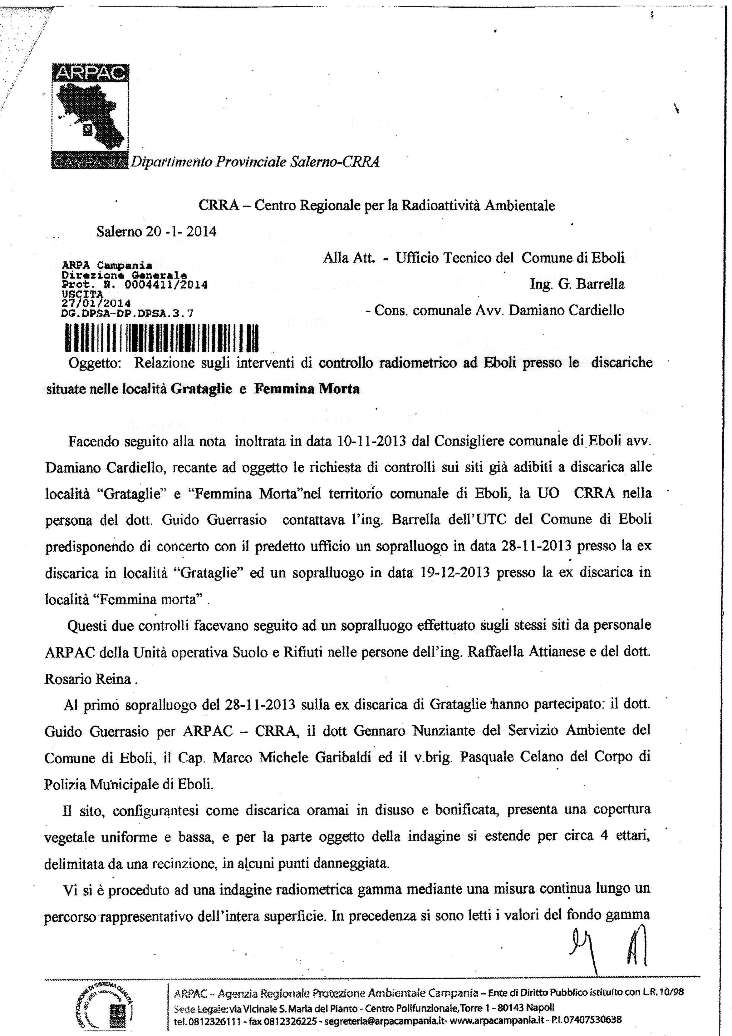 relazione-Arpac- pag. 1