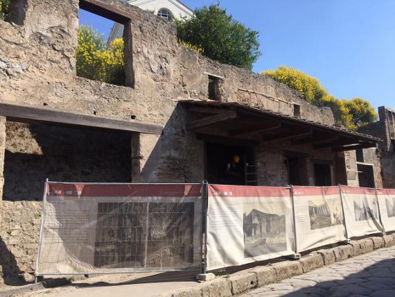 scavi pompei-via dell'abbondanza