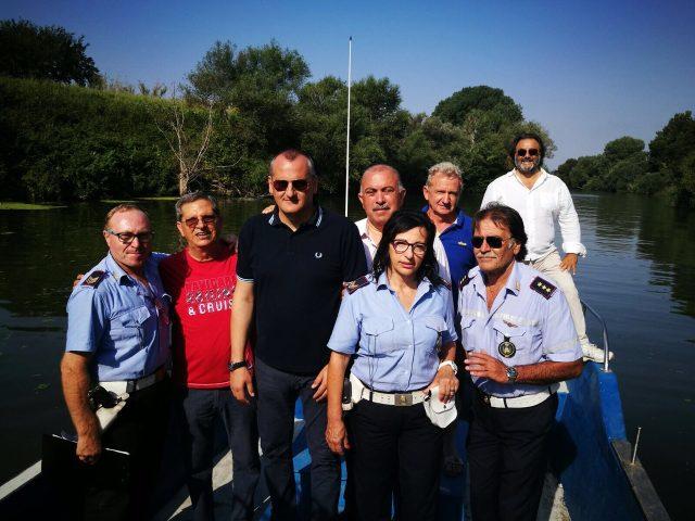 sopralluogo Sele-Massimo Cariello-Franco Palumbo