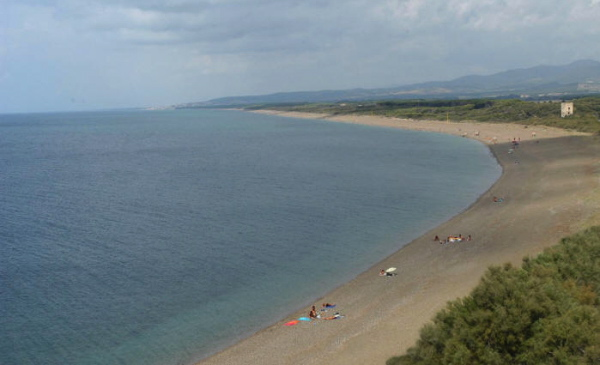 spiaggia litorale salernitano
