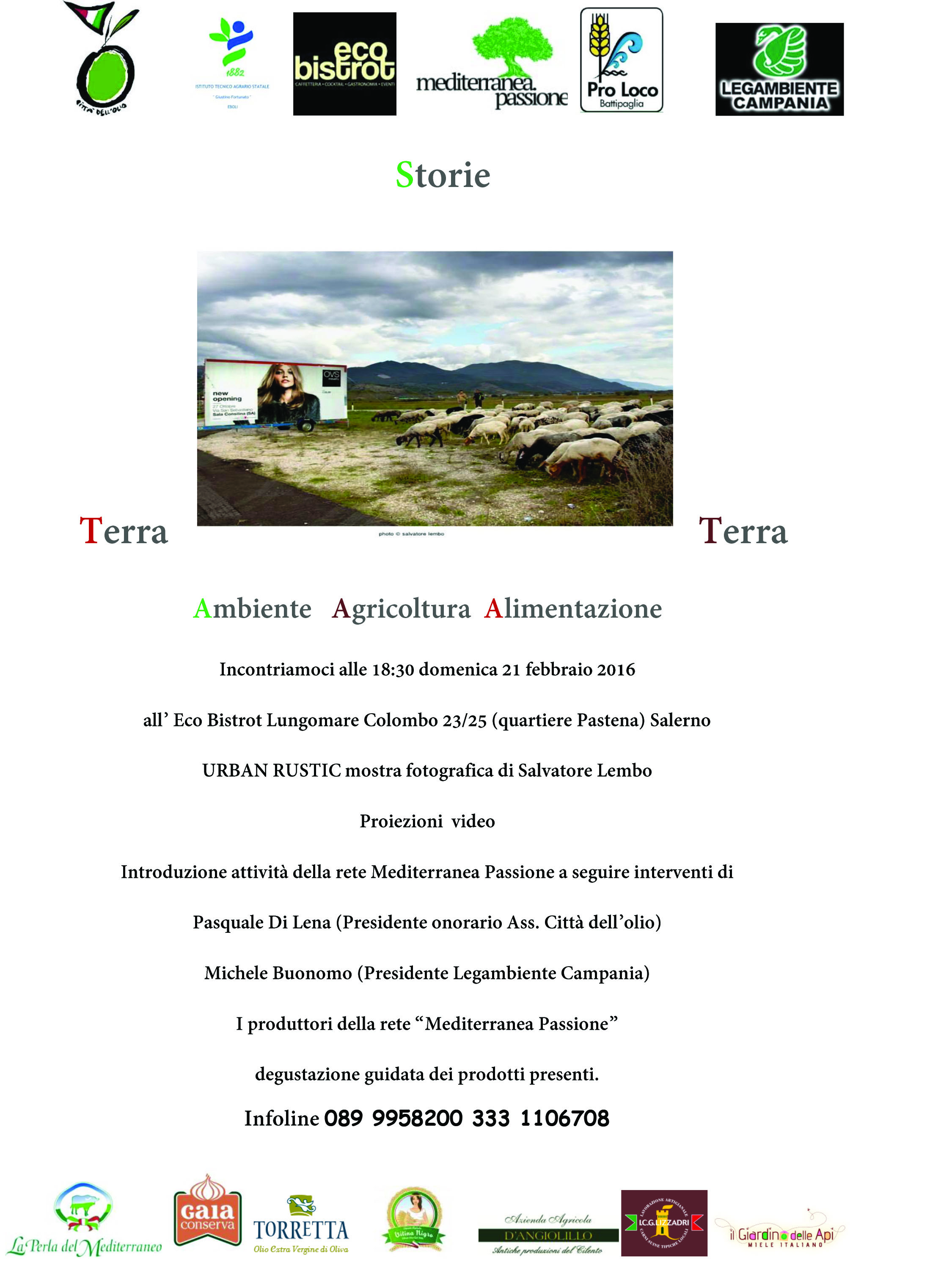 storie terra terra-Ecobistrot