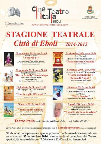 teatro Italia-Stagione 2014-2015