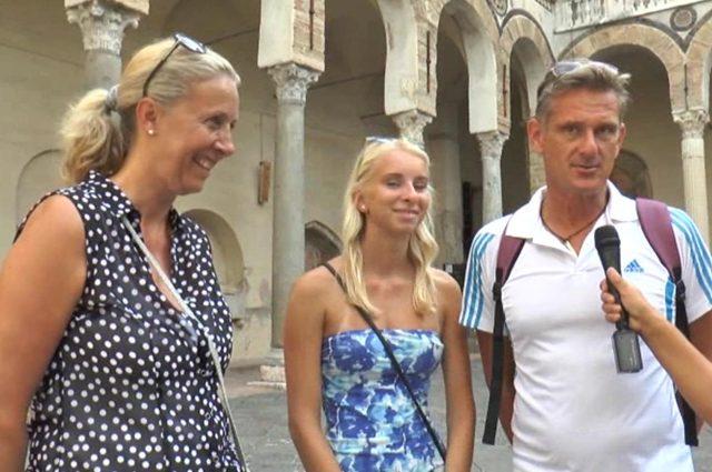 turisti a Salerno