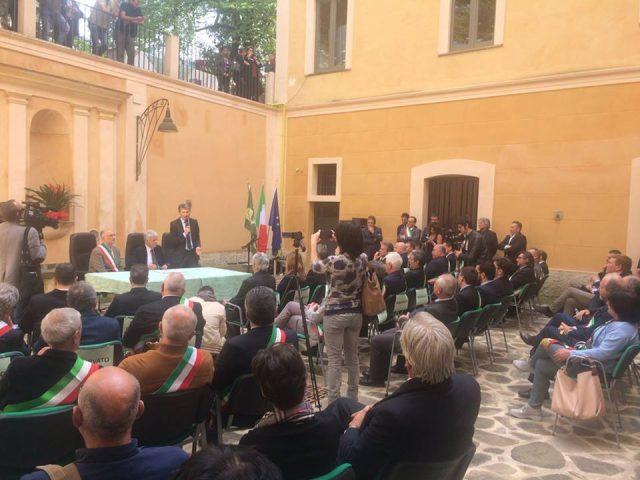 Visita Ministro Galletti