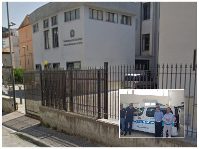 Nuova Sede dei VV. UU. di Eboli